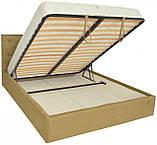 Кровать Двуспальная Bristol VIP 160 х 190 см Fibril 17 С дополнительной металлической цельносварной рамой, фото 4