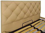 Кровать Двуспальная Richman Бристоль VIP 160 х 200 см Флай 2238 С дополнительной металлической цельносварной, фото 3