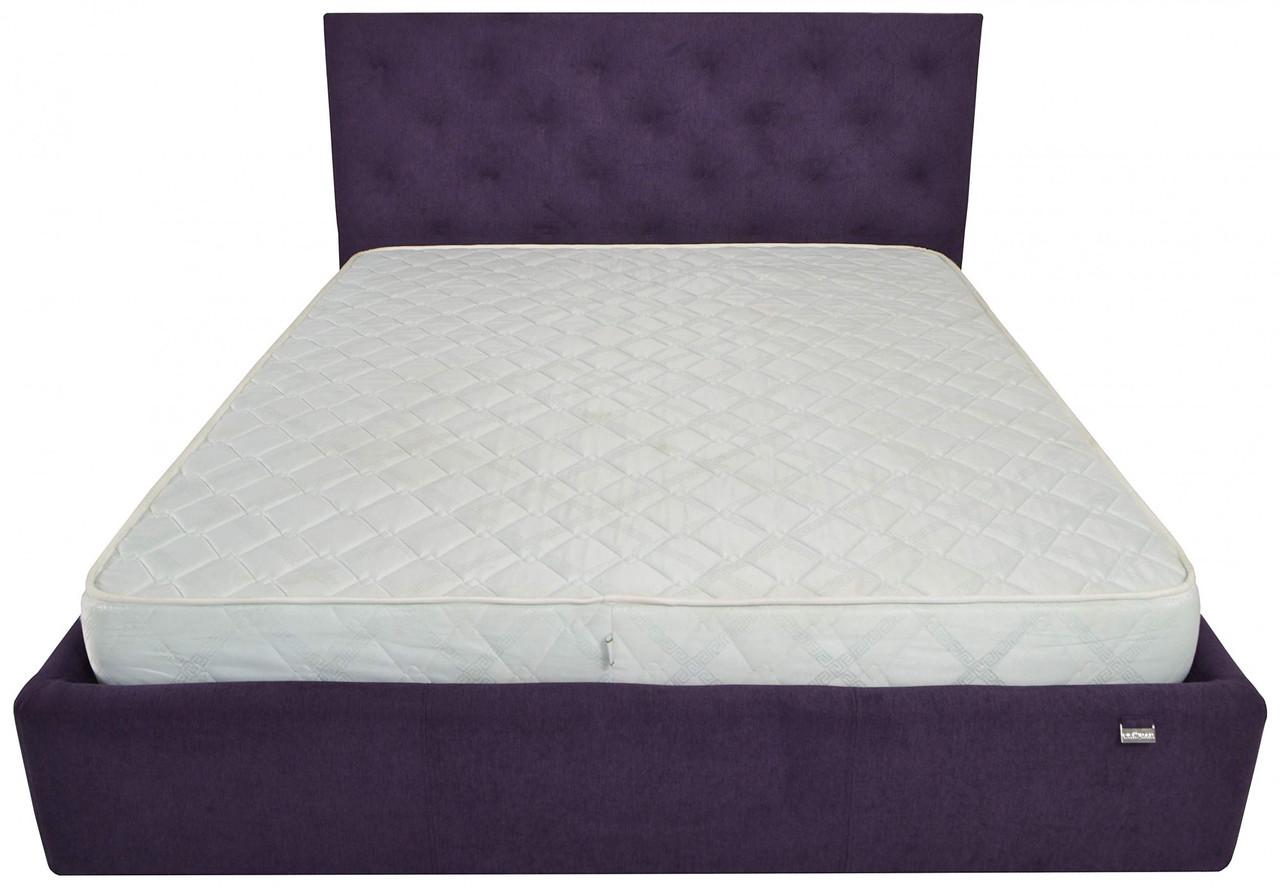 Кровать Двуспальная Richman Бристоль VIP 180 х 200 см Missoni 022 С дополнительной металлической цельносварной