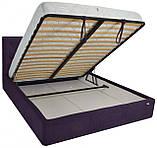 Кровать Двуспальная Richman Бристоль VIP 180 х 200 см Missoni 022 С дополнительной металлической цельносварной, фото 4