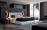 Кровать Двуспальная Richman Бристоль VIP 180 х 200 см Missoni 022 С дополнительной металлической цельносварной, фото 7