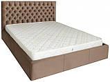 Кровать Двуспальная Cambridge VIP 160 х 190 см Missoni 04 С дополнительной металлической цельносварной рамой, фото 2