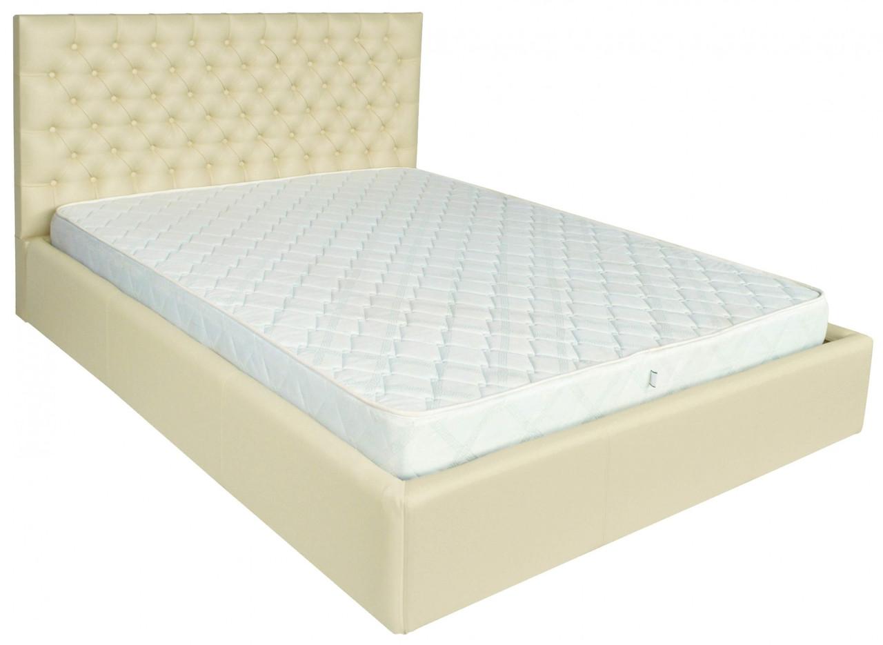 Кровать Двуспальная Cambridge VIP 160 х 190 см Флай 2207 A1 С дополнительной металлической цельносварной рамой