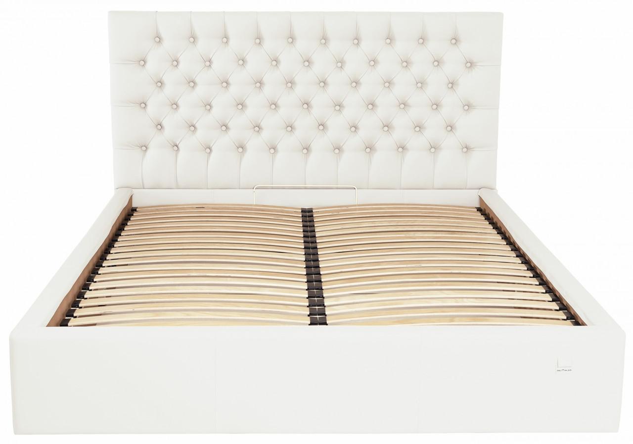 Кровать Двуспальная Richman Кембридж VIP 160 х 200 см Флай 2200 С дополнительной металлической цельносварной