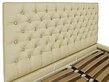 Кровать Двуспальная Richman Кембридж VIP 180 х 190 см Флай 2207 A1 С дополнительной металлической, фото 3