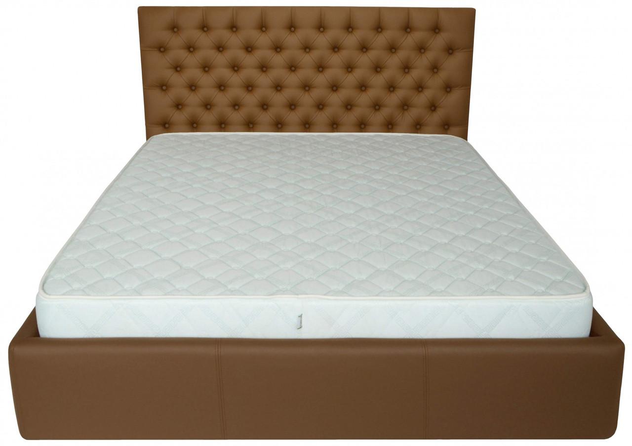 Кровать Двуспальная Cambridge VIP 180 х 190 см Fly 2213 A1 С дополнительной металлической цельносварной рамой