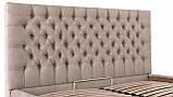 Кровать Двуспальная Richman Кембридж VIP 180 х 200 см Мисти Mocoo С дополнительной металлической цельносварной, фото 6