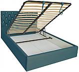 Кровать Двуспальная Richman Ковентри VIP 180 х 190 см Флай 2215 С дополнительной металлической цельносварной, фото 4