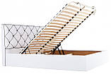 Кровать Двуспальная Richman Мелисса VIP 160 х 190 см Флай 2200 С дополнительной металлической цельносварной, фото 8