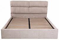 Кровать Двуспальная Richman Оксфорд VIP 180 х 190 см Мисти Mocco С дополнительной металлической цельносварной рамой Серая