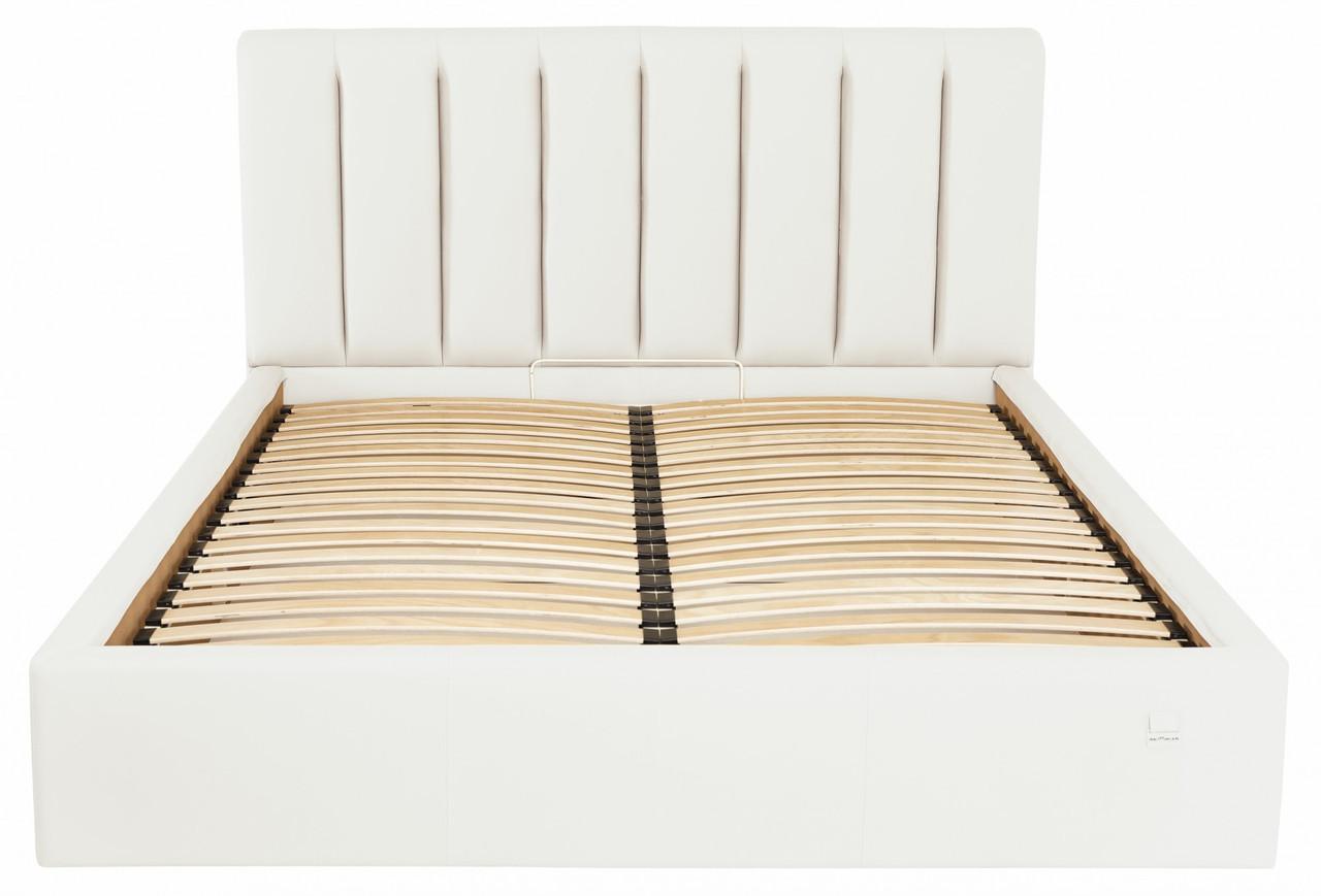 Кровать Двуспальная Sanam VIP 160 х 190 см Fly 2200 С дополнительной металлической цельносварной рамой Белая