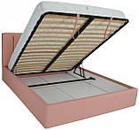 Кровать Двуспальная Richman Санам VIP 160 х 190 см Флай 2202 С дополнительной металлической цельносварной, фото 5