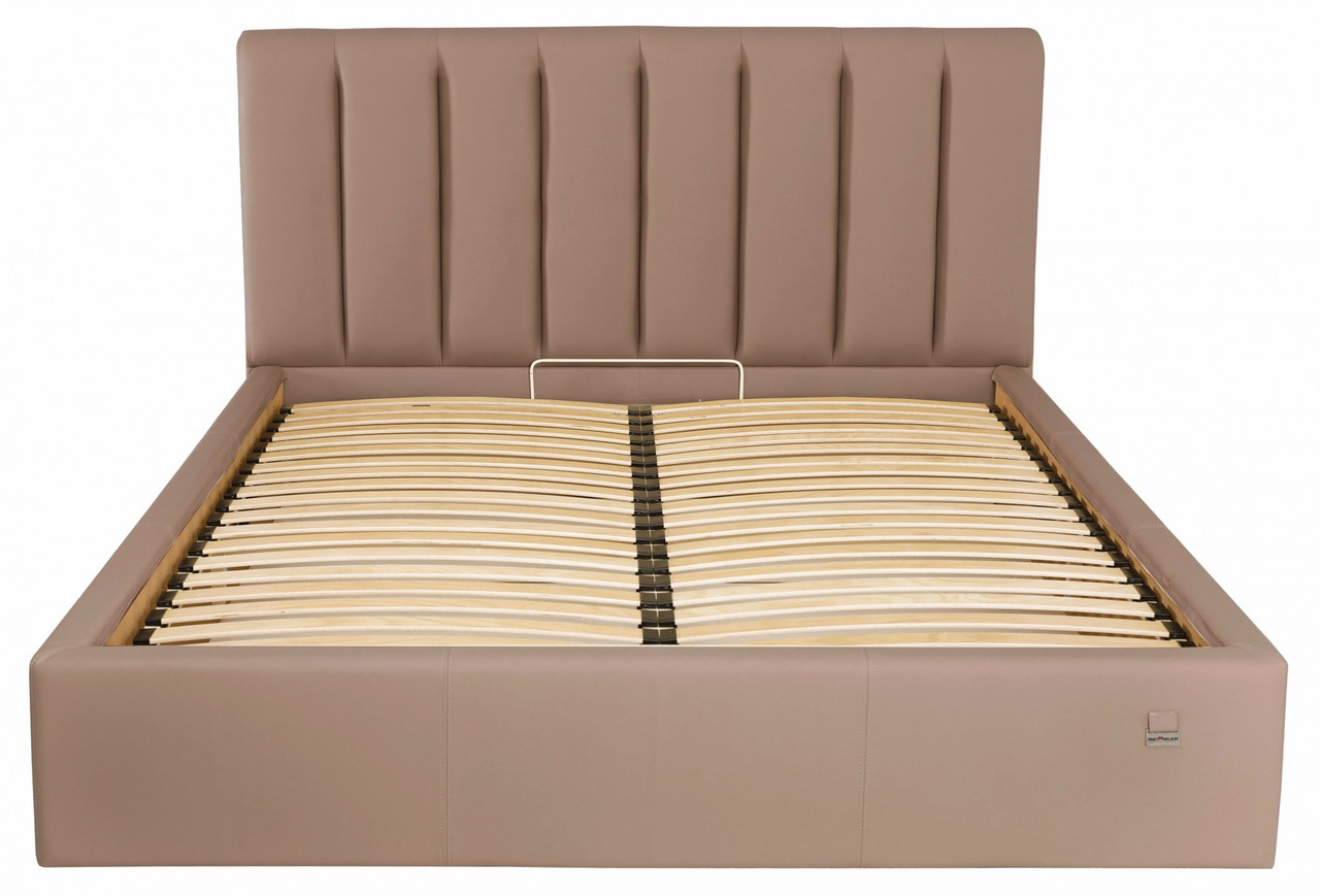 Кровать Двуспальная Richman Санам VIP 180 х 190 см Флай 2213 С дополнительной металлической цельносварной