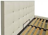 Кровать Двуспальная Richman Честер VIP 160 х 200 см Кинг 400 С дополнительной металлической цельносварной рамой C1 Белая, фото 3