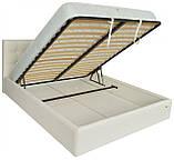 Кровать Двуспальная Richman Честер VIP 160 х 200 см Кинг 400 С дополнительной металлической цельносварной рамой C1 Белая, фото 4