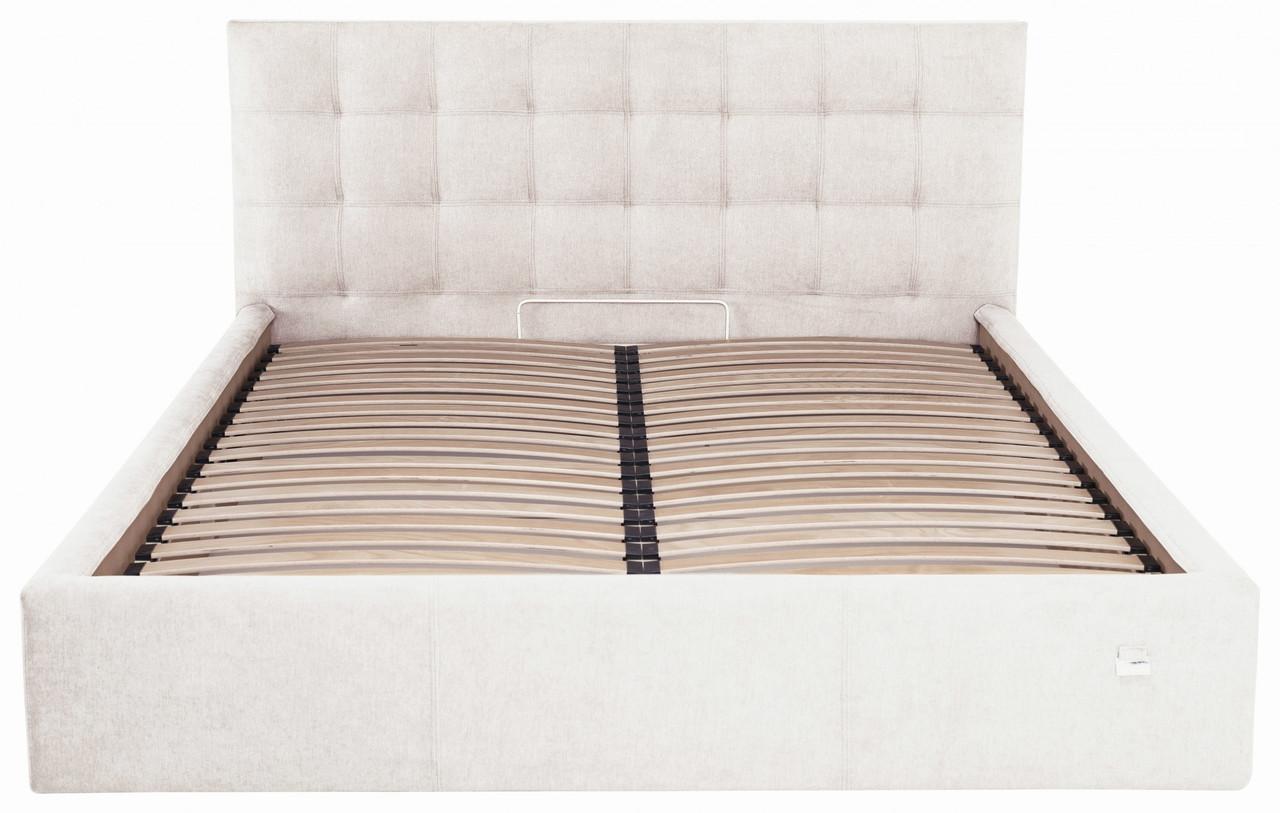 Ліжко Двоспальне Richman Честер VIP 160 х 200 см Місті Milk З додаткової металевої суцільнозварний