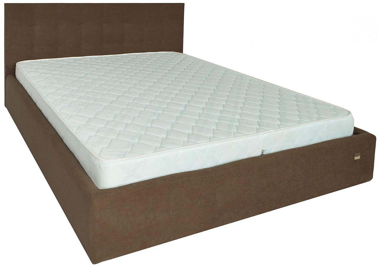 Кровать Двуспальная Chester VIP 180 х 190 см Мисти Brown С дополнительной металлической цельносварной рамой