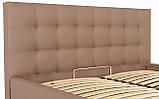 Кровать Двуспальная Richman Честер VIP 180 х 190 см Флай 2213 С дополнительной металлической цельносварной рамой Светло-коричневая, фото 6
