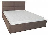 Кровать Двуспальная Richman Шеффилд VIP 160 х 200 см Miss 08 С дополнительной металлической цельносварной рамой Коричневая