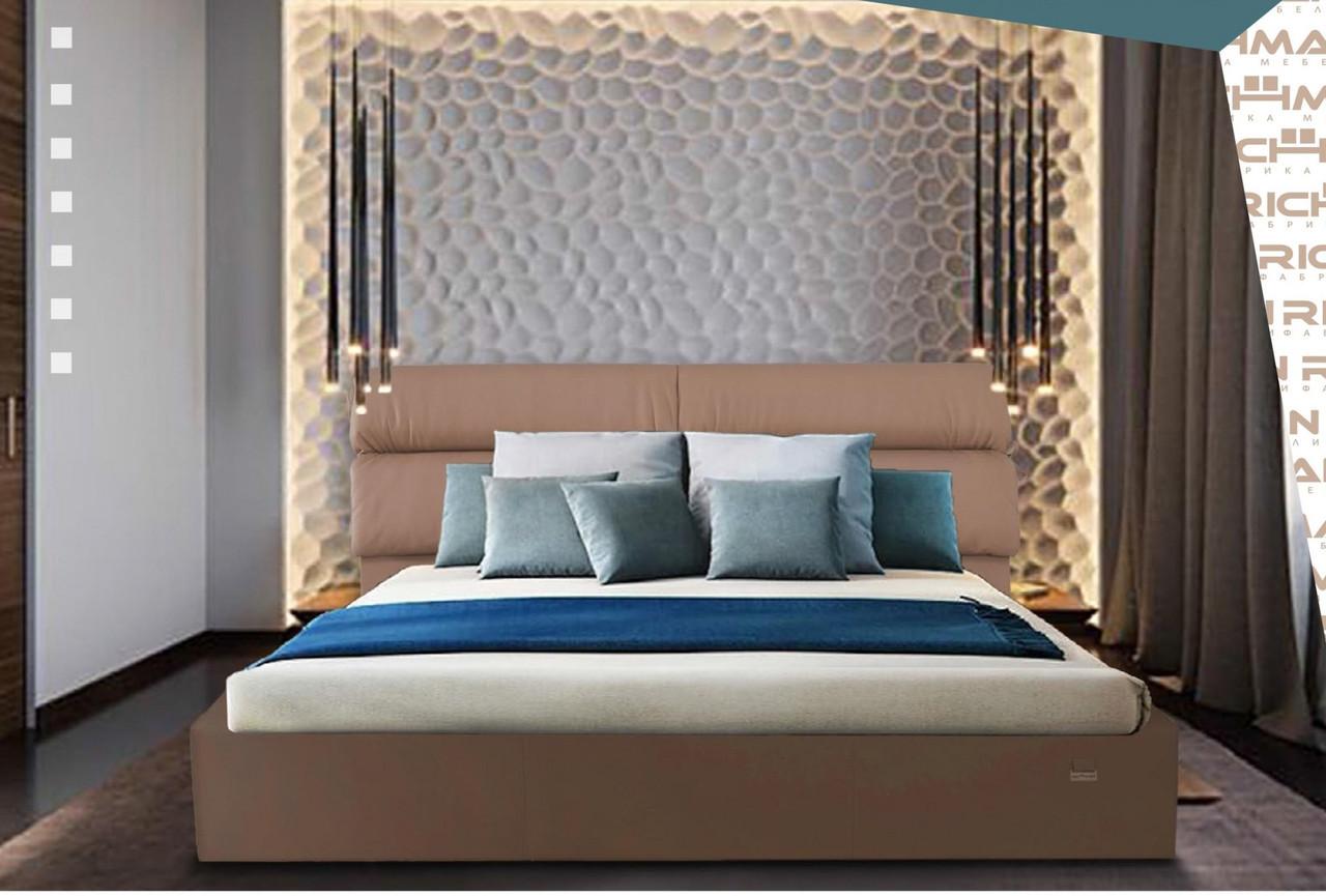 Кровать Двуспальная Edinburgh VIP 160 х 190 см Fly 2213 С дополнительной металлической цельносварной рамой