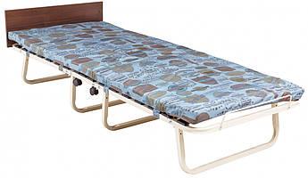 Розкладушка Richman Ервін з ортопедичним матрацом і узголів'ям 200 x 80 см Різнокольорова