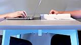 База к журнальному столу Richman Джинс под столешницы 1320-1900 мм Белая, фото 3