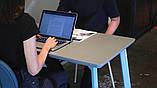 База к журнальному столу Richman Джинс под столешницы 1320-1900 мм Белая, фото 5
