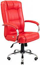 Офисное Кресло Руководителя Richman Альберто Boom 16 Хром М1 Tilt Красное