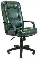 Офисное Кресло Руководителя Richman Альберто Мадрас Green India Пластик М1 Tilt Зеленое