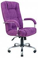 Офисное Кресло Руководителя Richman Альберто Мисти Dark Violet Хром М2 AnyFix Фиолетовое