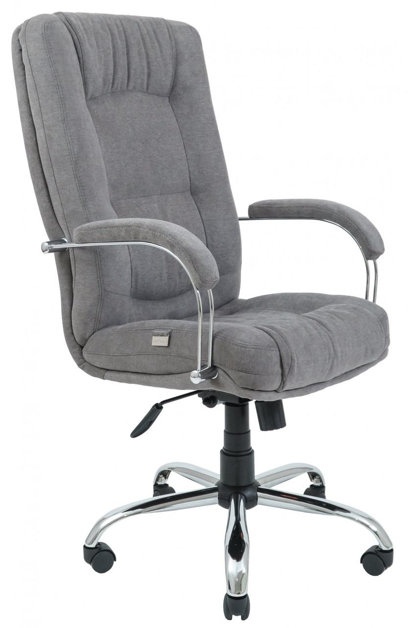 Офисное Кресло Руководителя Richman Альберто Мисти Gray Хром М2 AnyFix Серое