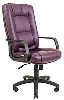 Офисное Кресло Руководителя Alberto Boom 15 ПлаStick М3 MultiBlock Пурпурное