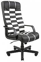 Офисное Кресло Руководителя Richman Атлант Флай 2300-2230 Пластик М2 AnyFix Черно-белое