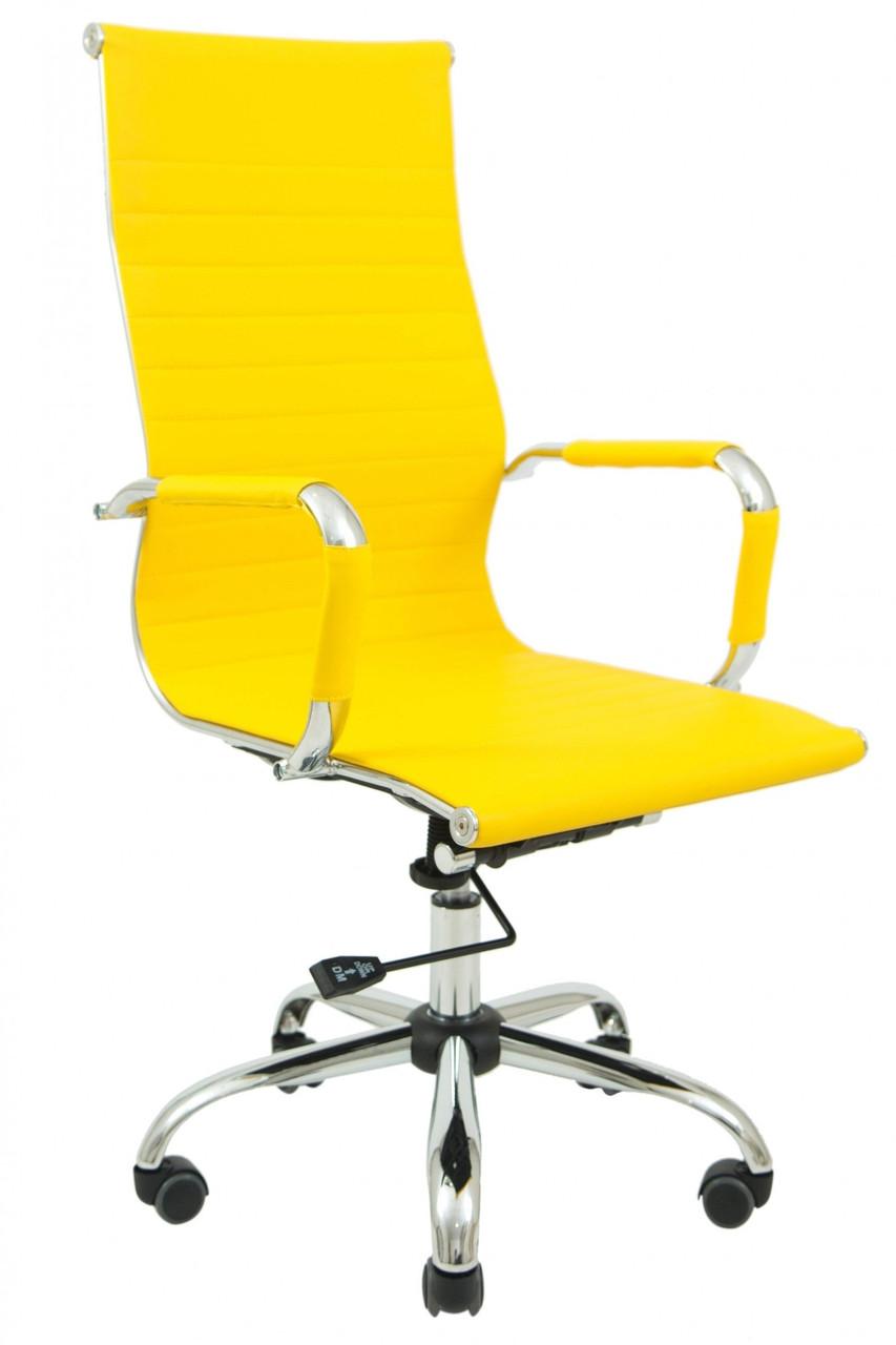 Ергономічне Офісне Крісло Richman Балі Флай 2240 DeepTilt Жовте