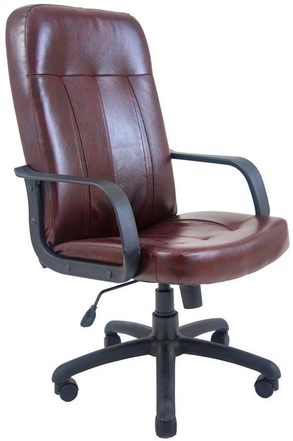 Офисное Кресло Руководителя Бордо Мадрас Bordo ПлаStick М3 MultiBlock Коричневое