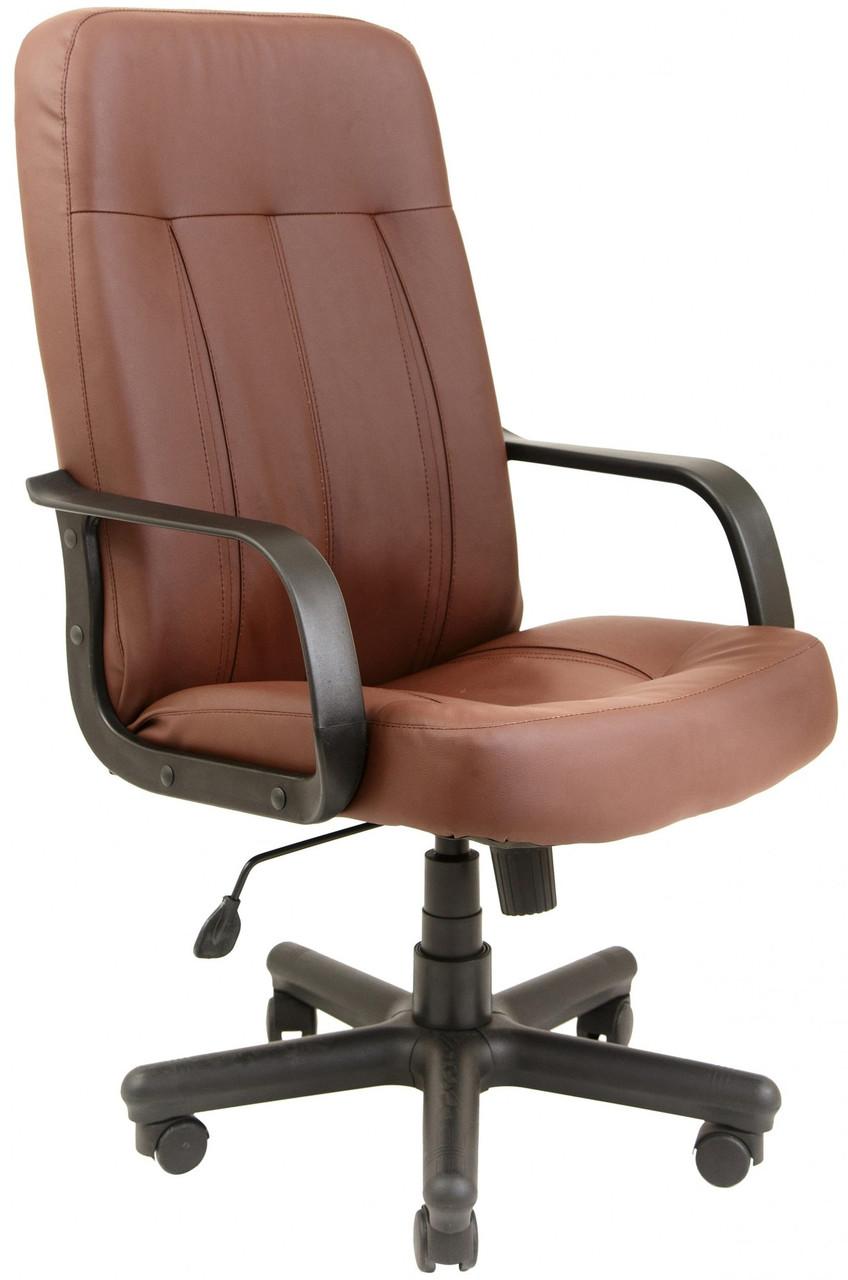 Офисное Кресло Руководителя Бордо Fly 2213 ПлаStick М1 Tilt Коричневое