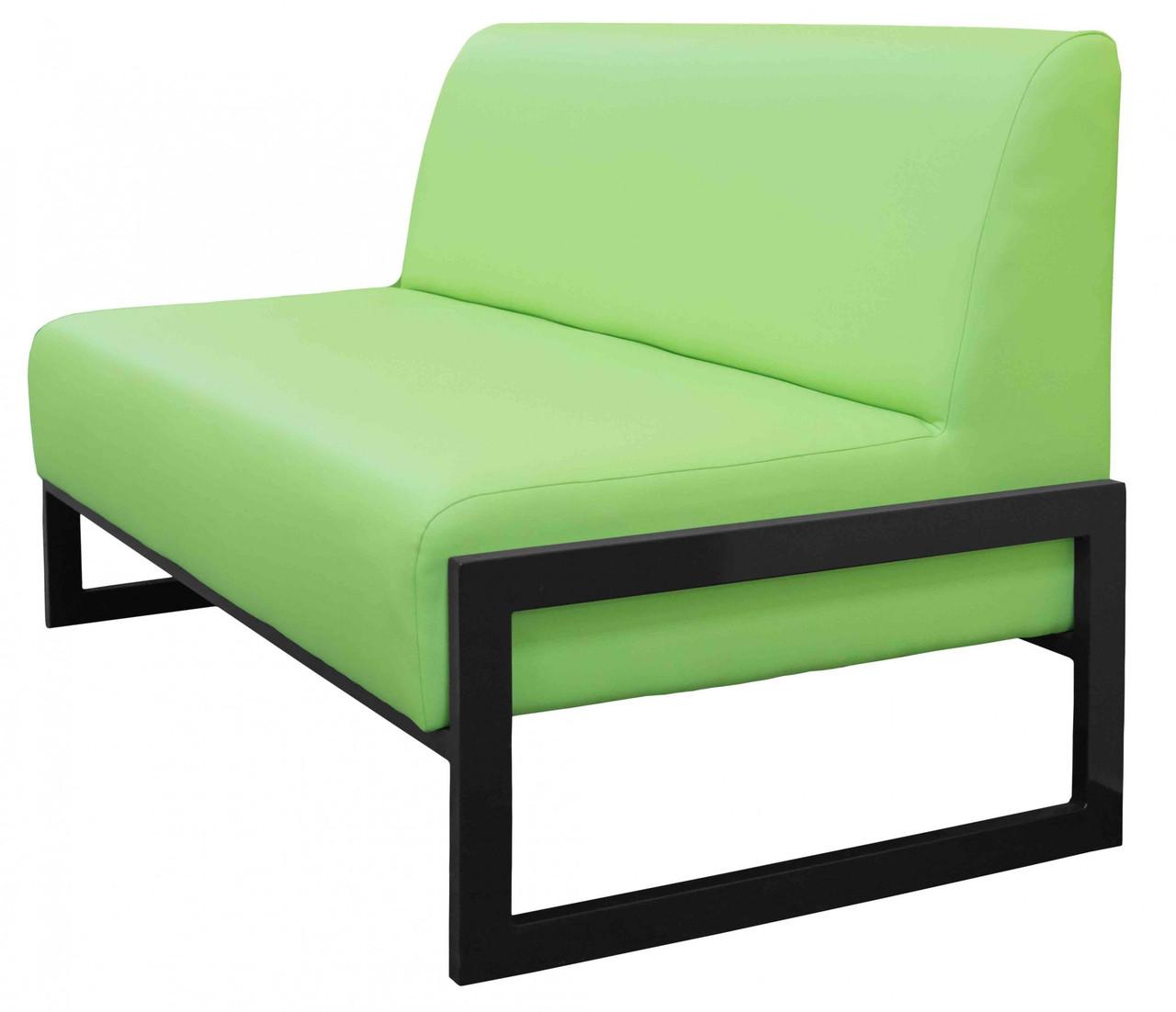 Диван Richman Квадро Двойка 1400 x 650 x 750H см Флай 2234 Зеленый
