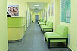 Диван Richman Квадро Двойка 1400 x 650 x 750H см Флай 2234 Зеленый, фото 6