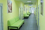 Диван Richman Квадро Двойка 1400 x 650 x 750H см Флай 2234 Зеленый, фото 7