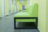 Диван Richman Квадро Двойка 1400 x 650 x 750H см Флай 2234 Зеленый, фото 8