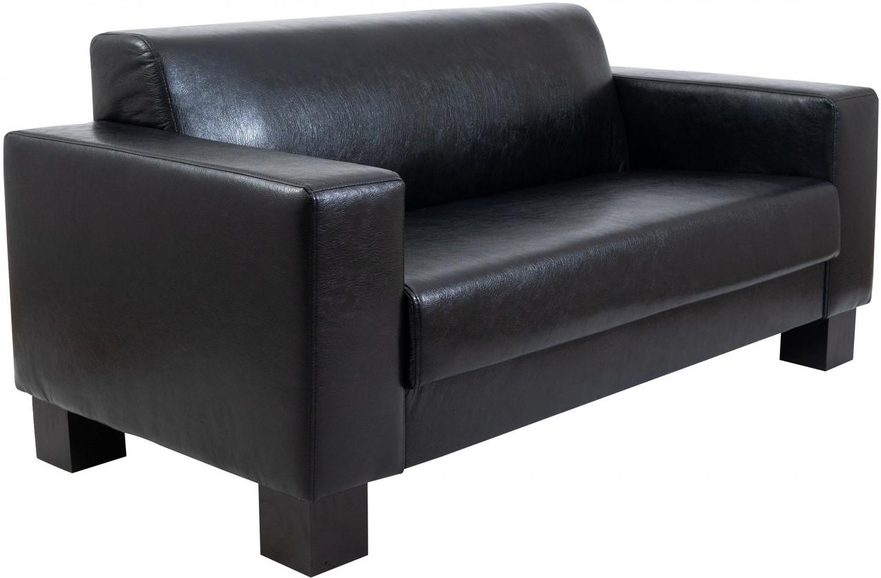 Диван Richman Бруно Тройка 830 x 2180 x 750H см Лаки Black Черный