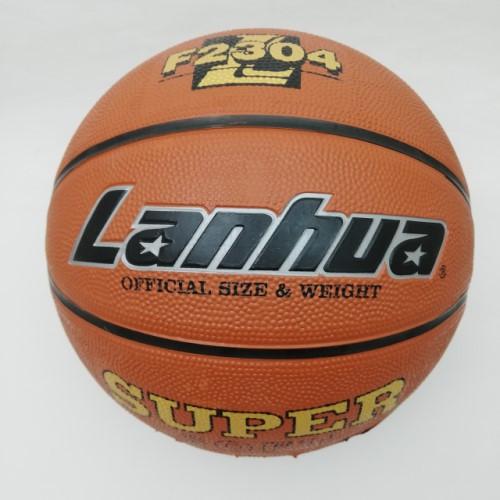 М'яч баскетбольний гумовий №7 LANHUA F2304 Super soft