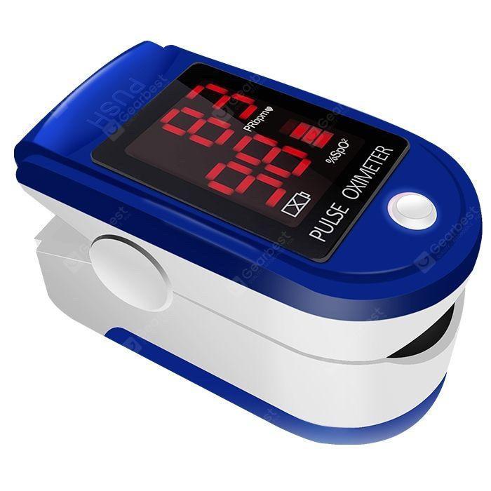 Пульсоксиметр Pulse Oximeter Contec CMS50DL на палец