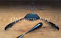 Вешалка-плечики с чёрной деревянной вставкой, фото 2