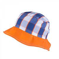 Панамка детская для мальчика TuTu арт. 3-004477(50-52, 54-56) 54-56, Оранжевый