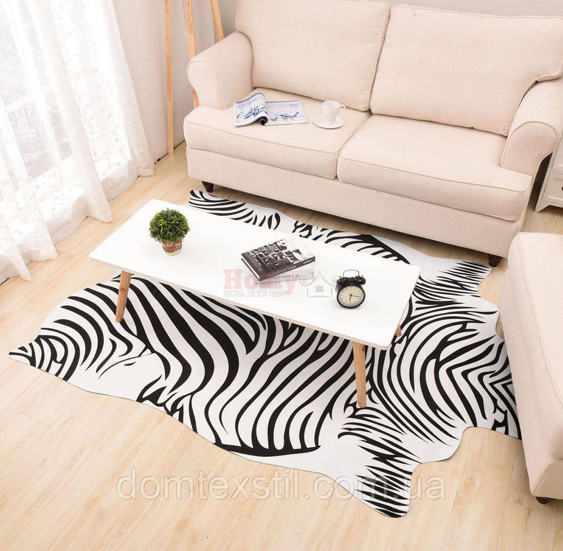 Искусственная шкура зебры
