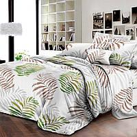 Комплект постельного белья ранфорс Пальмовые листья Marcel 20-118 Полуторный комплект