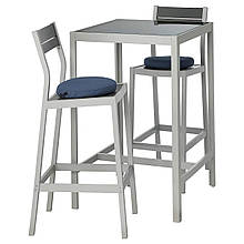 Барный стол и 2 стула SJALLAND