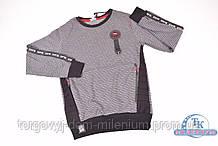 Батник для мальчика (цв.т.серый) трикотажный BENETI 2766 Рост:146,158