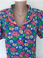 Летний халат с коротким рукавом 50 размер, фото 1